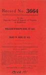 William Rudolph Rose, et al., v. Mary W. Rose, et al.