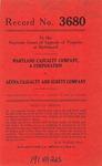 Maryland Casualty Company, A Company v. Aetna Casualty and Surety Company