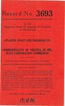 Atlantic Coast Line Railroad Company v. Commonwealth of Virginia, ex rel., State Corporation Commission