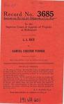 L. L. Rice v.  Samuel Chester Turner