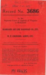 Seaboard Air Line Railroad Company v. W. P. Crowder, Administrator of the Estate of A. B. Crowder, Deceased
