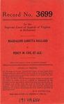 Magdalene Loretta Ballard v. Percy M. Cox, et al.