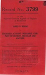 James O. Boone v. Standard Accident Insurance Company of Detroit and C. F. Joyner, Jr., Commissioner, Division of Motor Vehicles