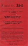 Walter N. Maguire and Guy Parkhurst Estes, et al. v. Frank Stone Loyd and J. Easley  Edmunds, Jr., Executors, etc.