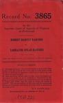 Robert Harvey Raiford v. Lorrayne Spear Raiford