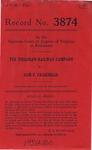 The Virginian Railway Company v. Sam F. Craighead