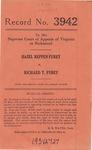 Hazel Reppen Furey v. Richard T. Furey