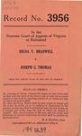 Hilda V. Braswell v. Joseph G. Thomas