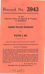 George Walter Whichard v. Walter J. Nee