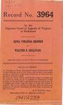 Edna Virginia Hebner v. Walter S. Sullivan