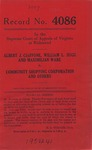 Albert J. Ciaffone, William L. Sugg and Maximilian Ware v. Community Shopping Corporation, et al.