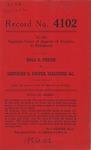Rhea D. Foster v. Gertrude D. Foster, Executrix, etc.