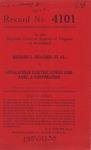Richard L. Meagher, et al. v. Appalachian Electric Power Company, a Corporation