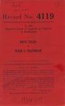 Reese Tellis v. Wade L. Traynham