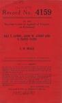 Ray T. Avery, John W. Avery, and E. Floyd Yates v. C. W. Beale