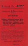 Ethel Weinstein v. Commerce Insurance Company, a Corporation, Saint Paul Fire and Marine Insurance Company, a Corporation, and American Equitable Assurance Company