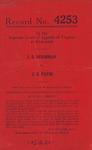 J. B. Hershman v. J. N. Payne