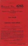 Ella Taylor v. Constance Tyler Hopkins