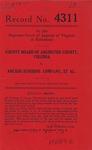 County Board of Arlington County, Virginia v. Arcade-Sunshine Company, et al.