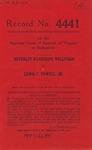 Beverley Randolph Wellford, et al. v. Lewis F. Powell, Jr., et al., etc., et al.