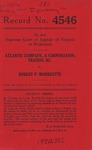 Atlantic Company, Inc., t/a Boush Ice & Cold Storage Plant v. Robert P. Morrisette