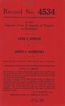 Annie E. Hopkins v. Joseph S. Gromovsky