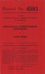 Long's Baggage Transfer Company, Inc. v. Nannie Moore