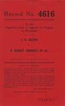 L. N. Hilton v. B. Hobert Amburgey, et al.