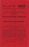 Mason and Dixon Lines, Inc. v. United States Casualty Company
