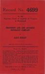 Provident Life and Accident Insurance Company v. Alice Kegley
