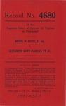 Bessie W. Boyd, et al. v. Elizabeth Boyd Fanelli, et al.