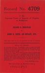 Duane E. Bogstad v. John B. Hope, an Infant, etc.