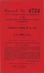 Virginia S. Shores, et al., etc. v. D. B. Stout, et al.