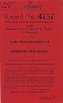 James Wilson Kuckenbecker v. Commonwealth of Virginia