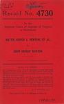 Hattie Gough S. Newton, et al. v. John Ernest Newton