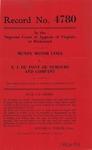 Mundy Motor Lines v. E. I. Du Pont De Nemours and Company