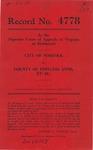 City of Norfolk v. County of Princess Anne, et al.