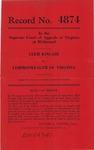 Clem Kincaid v. Commonwealth of Virginia