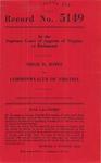 Edgie R. Jones v. Commonwealth of Virginia