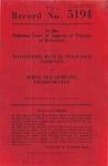 Nationwide Mutual Insurance Company v. Jewel Tea Company, Inc.