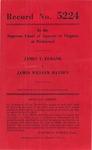 James T. Eubank v. James William Hayden