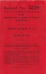 Hugh H. Hanshaw, et al., v. Charles D. Day