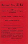 Hattie Gough S. Newton, et al., v. John Ernest Newton