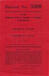 Orville H. Taylor v. Frances M. Taylor