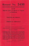 Walter Lee Mosley v. Vernon B. Chenault