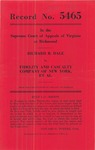 Richard B. Dale v. The Fidelity and Casualty Company of New York and Lamberts Point Docks, Inc.