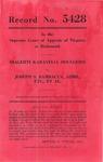 Dialehti Karavelia Doulgeris v. Josephy S. Bambacus, Administrator of the Estate of James Odessett, deceased, et al.