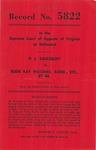 P. L . Saulsbury v. Eddie Ray Williams, Administrator of the Estate of Eddie Ray Williams, Jr., deceased, and Ernest Pinkston