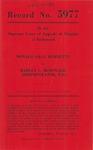 Donald Gray Burnette v. Harley L. McDonald, Administrator, etc.
