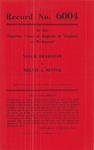 Nellie Bradshaw v. Melvin J. Minter